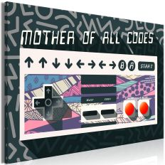 Tableau Mother of All Codes 1 Pièce Wide