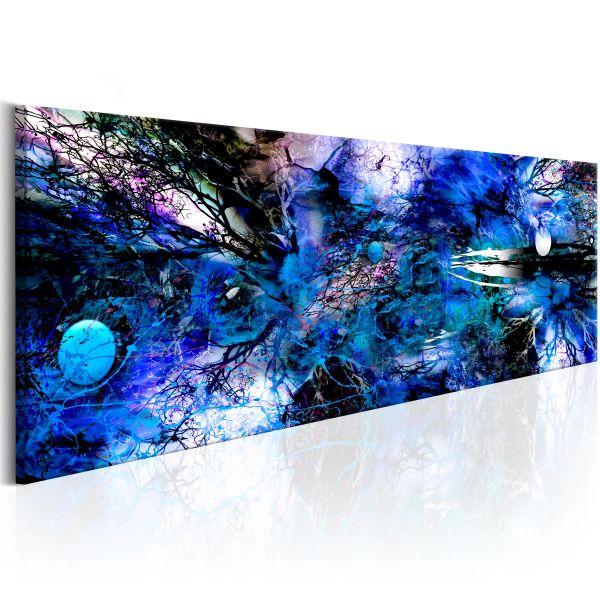 Tableau Blue Artistic Chaos