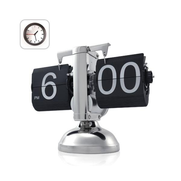 Horloge retro flip AM/PM