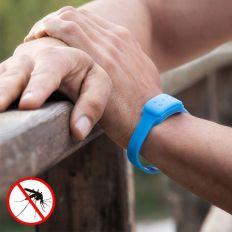 Bracelet anti-moustique naturel à la citronnelle