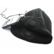 Bonnet avec écouteurs intégrés - Noir