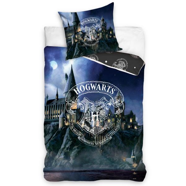 Parure de lit Harry Potter – Poudlard Hogwarts 100% coton 140x200 cm