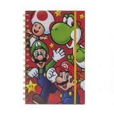 Cahier à spirale Super Mario - Format A5