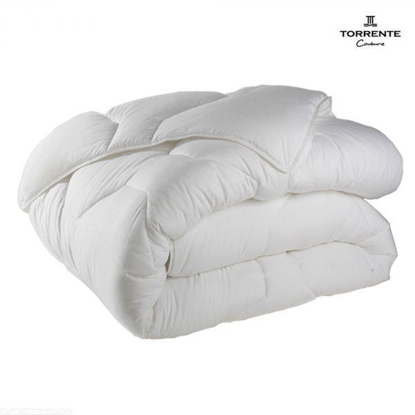 Couette toutes saisons Torrente 220x240 cm 500 gr/m² Blanc