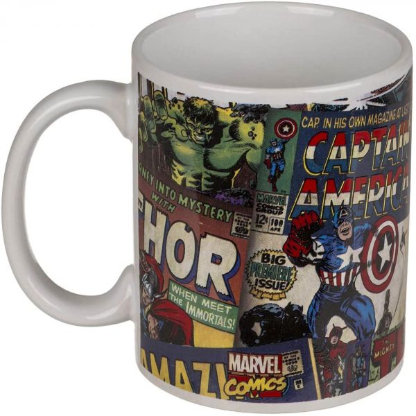 Mug en céramique Marvel Retro env. 325 ml