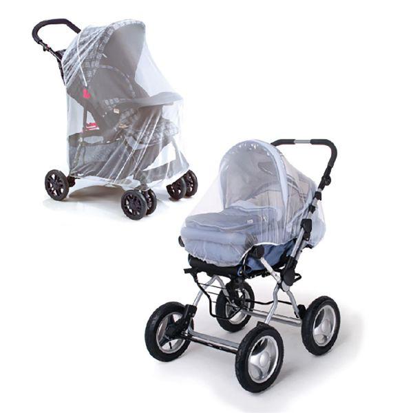 Moustiquaire pour poussette et lit bébé berceau 90x60 cm