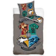 Parure de lit Harry Potter - Maisons 100% coton 140x200 cm