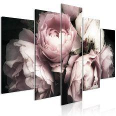Tableau Fleurs Smell of Rose (1 Part) Wide