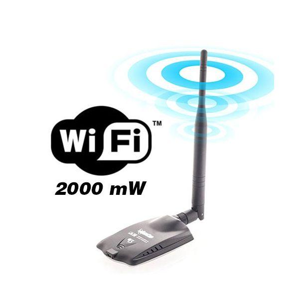 USB Wifi WifiSky Satycon 2000 mW