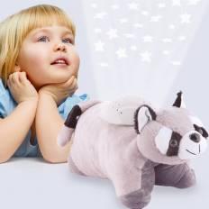 Peluche veilleuse 3 couleurs pour enfant