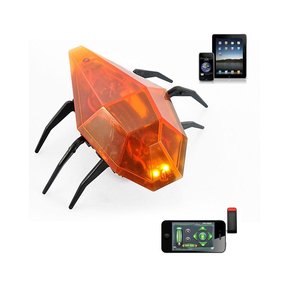 Mini robot cafard RC compatible iPhone - iPad - iPod. Le iCafard, comme son nom l'indique est un petit cafard robot RC qui peut être contrôlé à l'aide de votre iPhone, iPad ou iPod Touch. Contrôler entièrement ce mini robot rc avec votre appareil iOS...