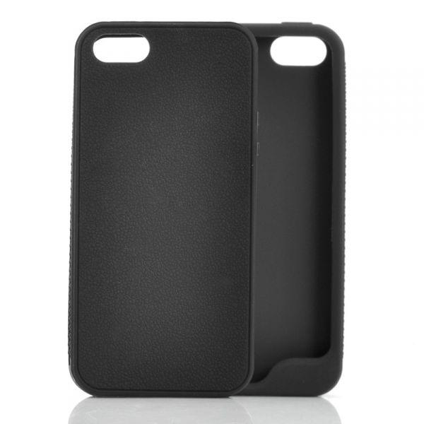 Coque iPhone 5 Souple, Fine - Noire