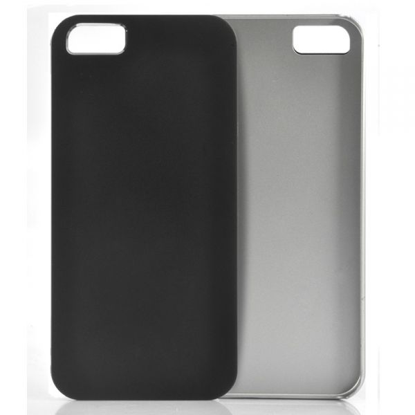 Coque iPhone 5 Rigide, Fine - Noire