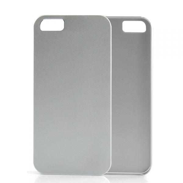 Coque iPhone 5 Rigide, Fine - Argent