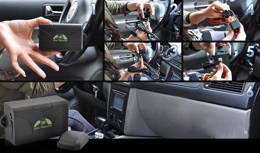 Traceur GPS auto-moto