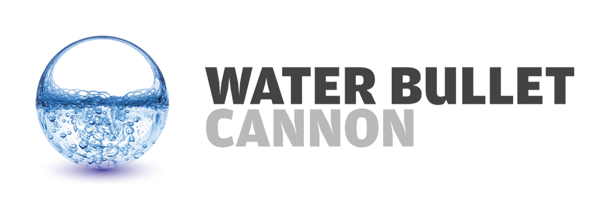 Water bullet cannon